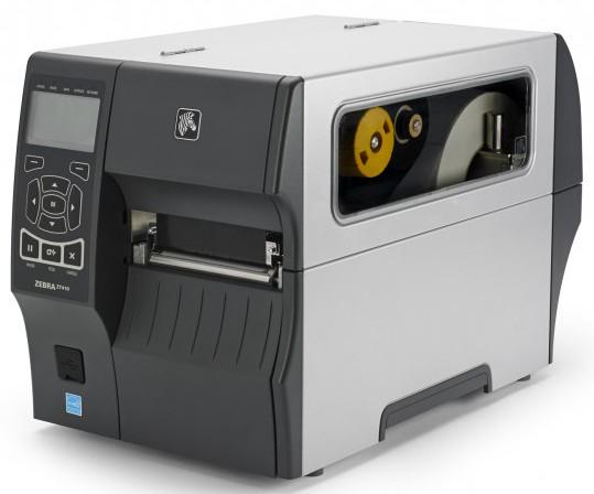 Zebra ZT410 Black And White 203 dpi Industrial Label Printer