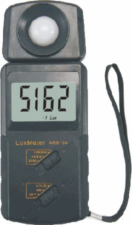 Lux Meter Industrial Three Manual Mode AR813A