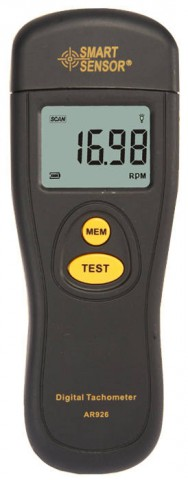 Smart Sensor AR926 Non Contact Digital Tachometer