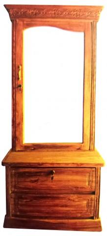 Al Modina AMFDT 7 Dressing Table Furniture Mirror 2 Drawer