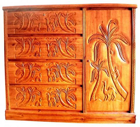 Charmant Al Modina AMFW 94 Furniture 1 Door 4 Drawers Wardrobe