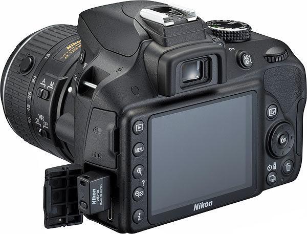Nikon D3400 Bluetooth 24MP 18-55mm Lens DSLR Camera
