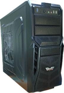 Vatyn 654 Black Heavyweight Gaming Desktop PC Casing