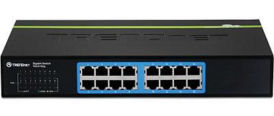 Trendnet TEG-S16Dg Greennet 16-Port Gigabit Network Switch