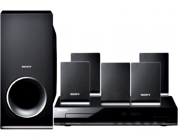 sony dav tz140 5 1 home theater system dvd player price. Black Bedroom Furniture Sets. Home Design Ideas