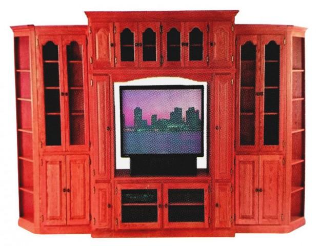 Al Modina AMFShow 29 Shegun Wood Showcase Furniture