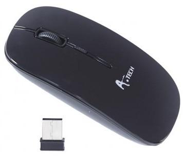 A.Tech Ergonomic 3 Buttons 10 Meter Wireless Mouse