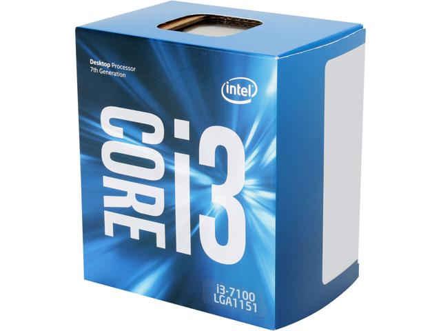 Intel Core i3 7100 Kaby Lake 3.9GHz Desktop Processor