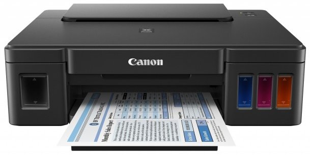 Canon Pixma G1000 Single Funtion Ink Tank Color Printer