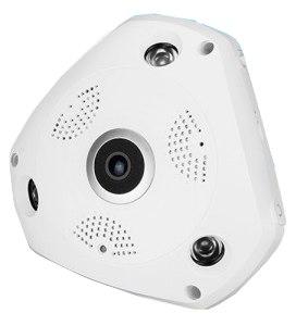 Fisheye VR 3D Paranomic Wi-Fi HD 360° IP CC Camera
