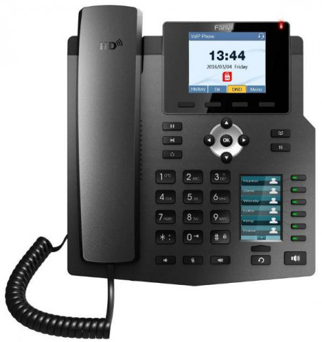 Fanvil X4 PoE 30 DSS 10/100/1000Mbps Ethernet IP Phone