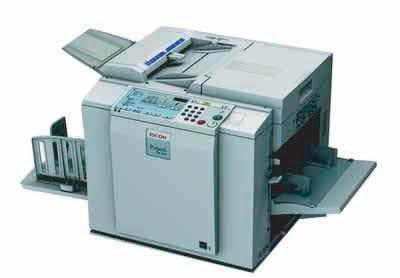 Ricoh DD 3344 First Print Digital Duplicator Machine