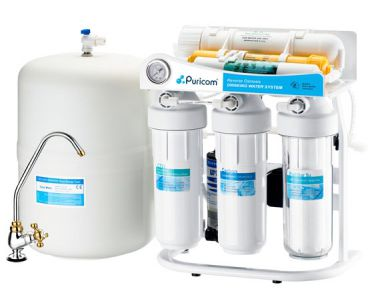 Puricom CE-6 Six Stage RO Water Purifier Machine