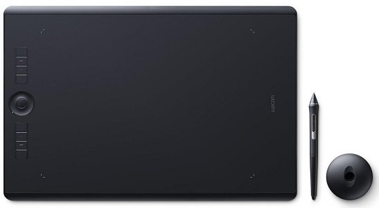 Wacom Intuos Pro Large PTH-860 Touch Ring Drawing Tablet