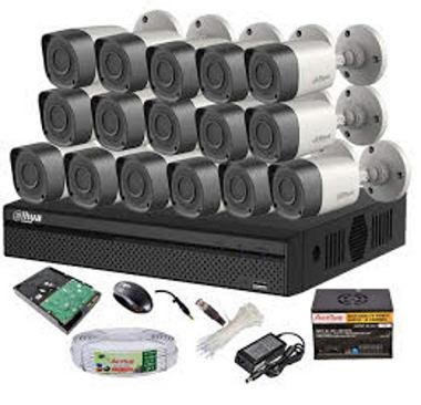 CCTV Package Dahua DH-HCVR4116HS-S3 Recorder 16-Camera