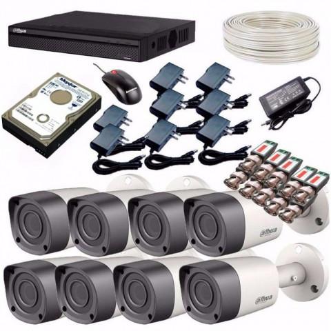 CCTV System Dahua DH-HCVR4108HS-S3 Recorder 8-Camera