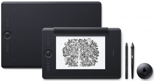 Wacom PTH860P Intuos Pro Paper Edition Graphics Tablet