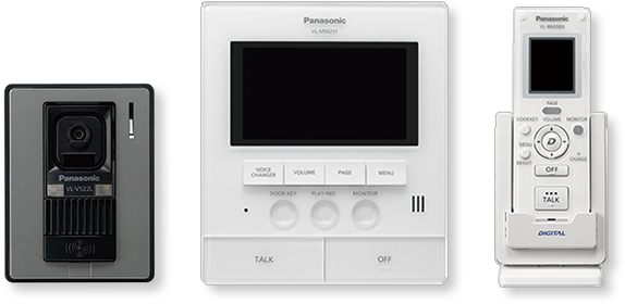 "Panasonic VL-SW251 5"" Monitor Video Intercom System"