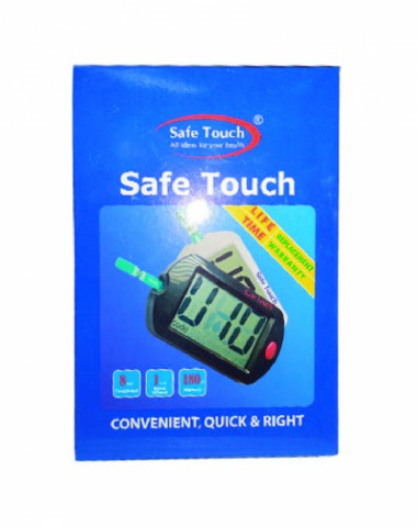 Safe Touch 0.7 µL Sample Size Blood Glucose Meter