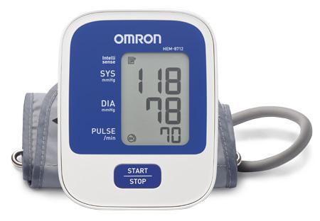 Omron Hem 8712 Lcd Screen Digital Blood Pressure Monitor