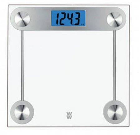 Digital Weight Scale Transparent Glass DS-002