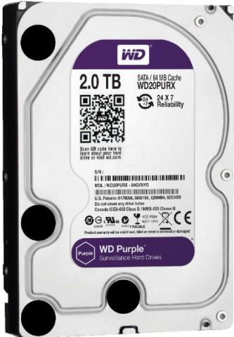 Western Digital Purple WD20PURX 2TB Hard Disk Drive