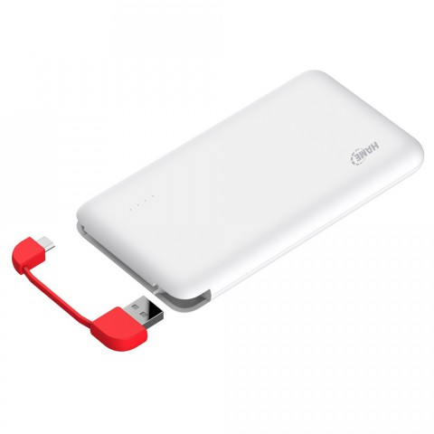 Hame T5 5000mAh Ultrathin Polymer Mobile Power Bank