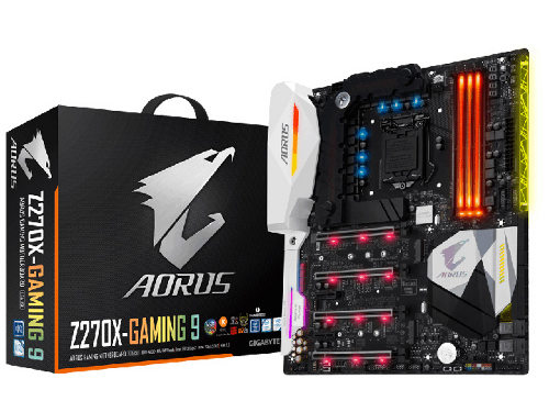 Gigabyte GA-Z270X-Gaming 9 Dual Channel Desktop Motherboard