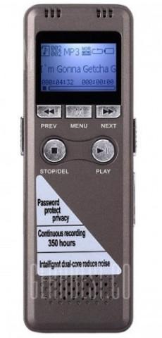 Speed Data GH-700 One Touch VAR Digital Voice Recorder