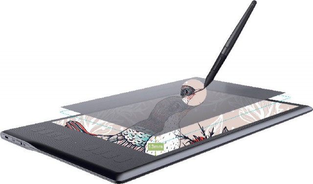 Huion Inspiroy Q11K 11 Inch Wireless Graphics Tablet