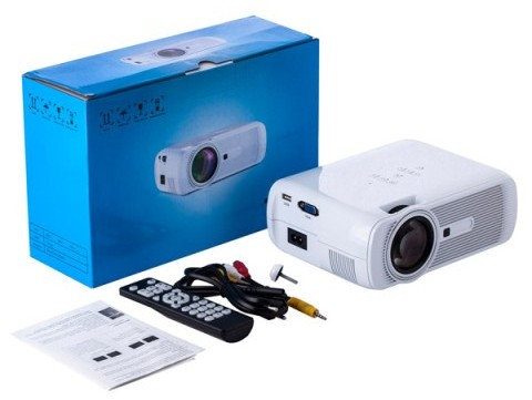 Speed Data G-80 TV 1000 Lumen SVGA LED Multimedia Projector