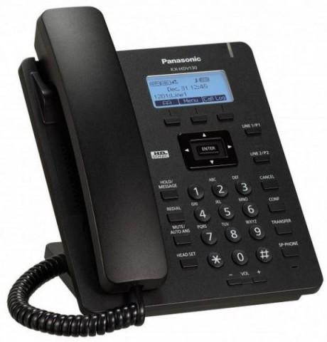 Panasonic KX-HDV130 PoE 3 Soft Keys Full Duplex SIP Phone