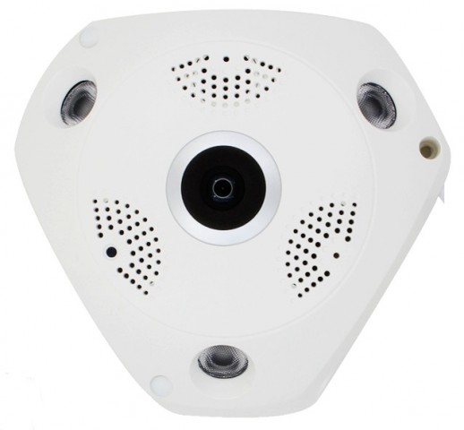 CCTV Fisheye 360° 1.3 MP 960p Wi-Fi Panoramic IP Camera