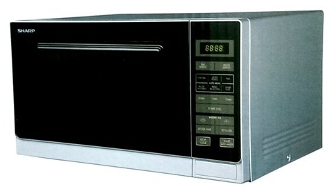 Sharp R-32A0(S)V 25L 900 Watt Auto Program Microwave Oven