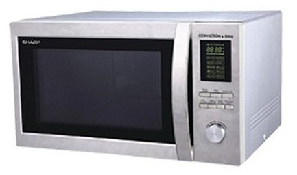 Sharp R-84A0(ST)V 25 Liter Grill Convection Microwave Oven
