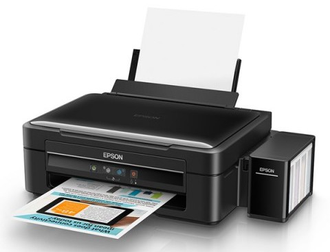 Epson L380 All-In-One 15 PPM One Touch Color Inkjet Printer