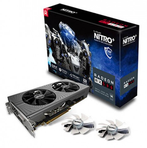 Sapphire NITRO+ Radeon RX 580 8GB DDR5 Graphics Card
