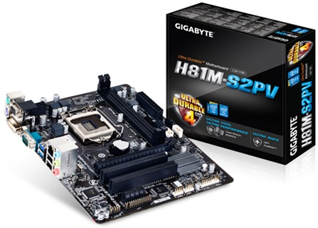 Gigabyte GA-H81M-S2PV 4th Generation UEFI Mother Board(Price ৳ 5,000)