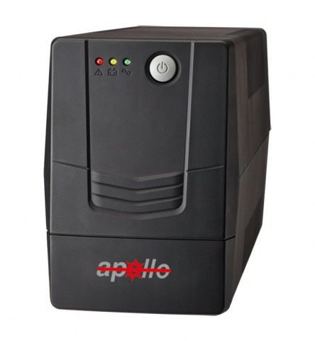 Apollo 650VA 2ms Transfer 20 Minutes Backup Offline UPS