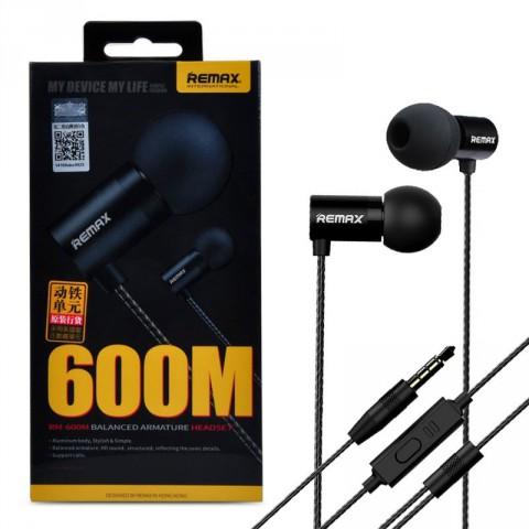 Remax RM-600M Metal HIFI Moving Iron In-Ear Earphone