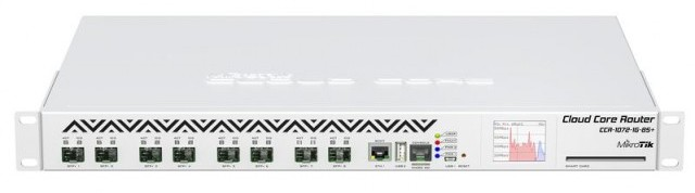 Mikrotik CCR1072-1G-8S+ Cloud Core 16GB RAM Ethernet Router