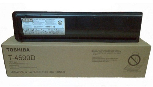 Toshiba T-4590D 30000 Page Yield Copier Toner Cartridge
