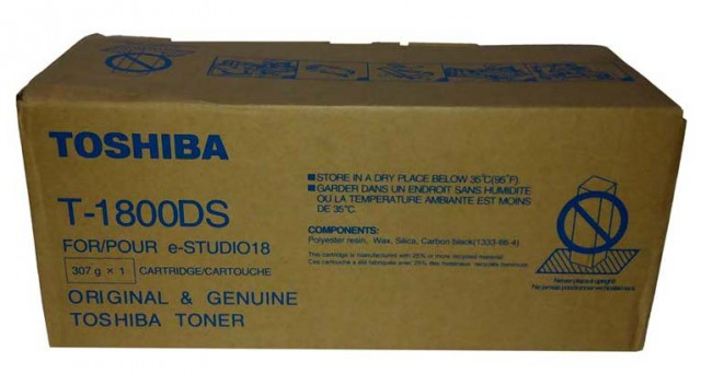 Toshiba T-1800DS 10000 Page Yield Black Photocopier Toner