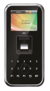 Virdi AC5000 Outdoor Fingerprint PoE Access Controller