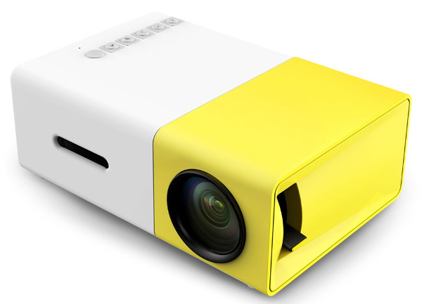Speed Data YG-300 Portable Multimedia Mini Projector