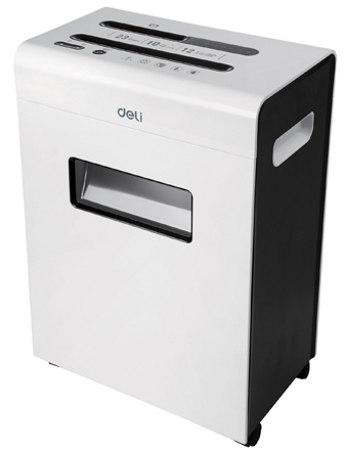 Deli 9903 Cross Cut 12-Sheet Office Paper Shredder Machine