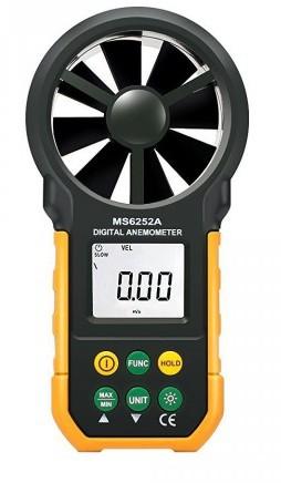 Hyelec MS6252A Wind Speed Handheld Digital Anemometer