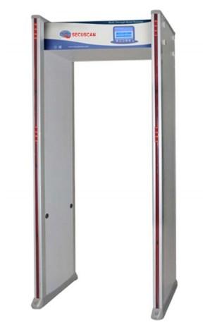 Secuscan AT300S 33-Zone 5th Gen Metal Detector Archway Door