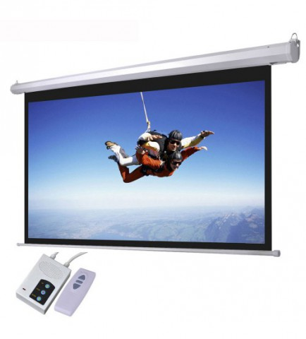Electric Motorized 84 X 84 Inch Projector Screen Price