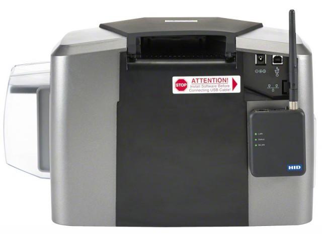 Fargo DTC1250e High Quality Single Side ID Card Printer